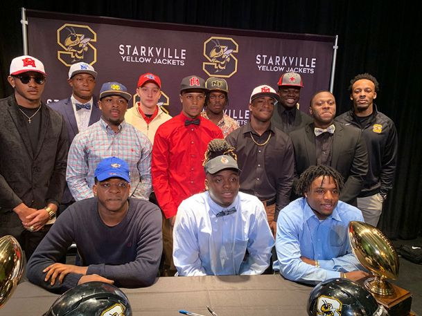 The Starkville High School signing class included KJ Lawrence (Mississippi College); Garin Boniol (Louisiana Tech); Zach Edwards (Louisville); Rodrigues Clark and Jalil Clemons (Memphis); Ty Johnson, Tonorris Brookens, Mikel Williams,  and Alexis Stallings (East Mississippi Community College); Michael Goss (East Central Community College); Bernard Thomas (Mississippi Gulf Coast Community College); Atavius Jones (Copiah-Lincoln Community College); Myles Stone (Northeast Mississippi Community College); Ryan Johnson (Northwest Mississippi Community College).