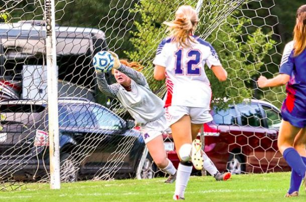 Starkville Academy goalkeeper Meri Laci Archer is one of two graduates whom the Volunteers will miss this season. Archer and Anna Card will both be playing for Meridian Community College this year, and the Vols will try to fill their spots with younger players on the rise.