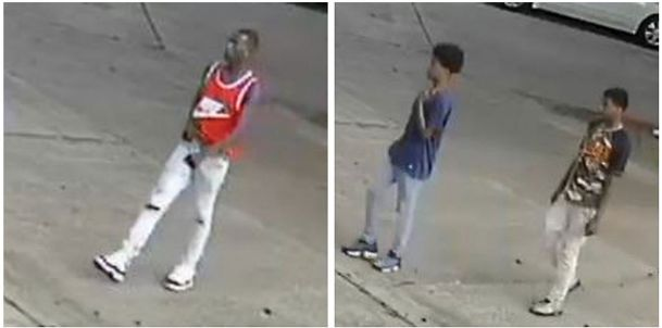 Columbus police are seeking help identifying three people, pictured here in surveillance footage, who broke into a car in the Baptist Memorial Hospital-Golden Triangle parking lot last month.