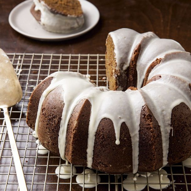 Stout beer replaces water in this bold, spicy gingerbread Bundt cake recipe from