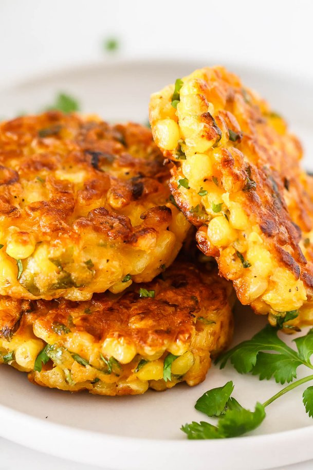 Fresh corn is in season, no better time for not only corn-on-the-cob, but favorites including delicious corn fritters.