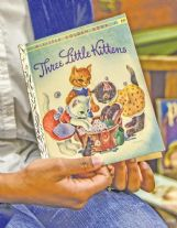 """""""Three Little Kittens� is the oldest book in the collection, published when Little Golden Books launched, in October 1942."""