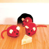 Strawberry mice are super simple to make and should entice any child to eat fruit.