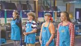 Mark Coblentz of Starkville is third from left in this lineup of contestants on the New York set. The others hail from California, New Jersey and Texas. The young cooks have remained in touch since the filming.