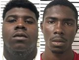 Cedric Splounge, left, and Kentravious Splounge