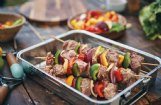 Versatile grilled kebabs offer endless ways to combine proteins and veggies for a summer meal.