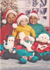 Dak Prescott, center, is pictured with his older brothers and Jace and Tad in this family photo.