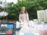 Eliza Boyd has 15 different varieties of soaps and three kinds of bath bombs, which she sells each Saturday at the Starkville Community Market.