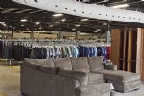 The Palmer Home Thrift Store in Columbus offers a variety of merchandise available for purchase.