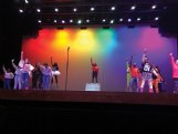 Columbus Middle School students present showcase