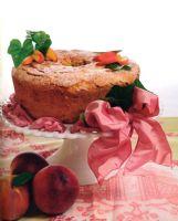 Peach Almond Pound Cake