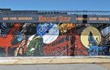 Pictured above is West Point mural dedicated Clay County native Howlin' Wolf and Mississippi's blues heritage. It was the second mural Deborah Mansfield designed for the Main Street area.