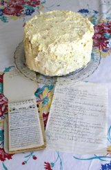 Recipes in Jean Towery's own handwriting are treasured by her daughter, Pam Rhea.