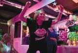 Diane Clark freestyle dances to