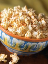 Spice up snack time with cajun corn and other popcorn ideas shared below.