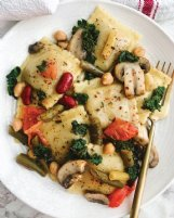 For a twist on ravioli, try this lemon-butter 4-bean version.