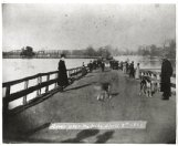 The 1877 bridge at the foot of Main Street during the 1892 Tombigbee flood which crested at 42.6 feet on the old river gage.