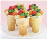 Here's a fun fruit cup idea from parentsociety.com.