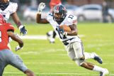 Northwest Mississippi Community College freshman running back Chris Calvert, a former standout at West Point High School, had a career-high four touchdowns last week in a victory against  Mississippi Delta C.C.