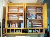 Desk cabinets after