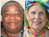 Dorothy Bishop, left, and Carole McReynolds Davis