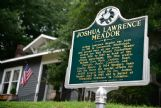 With the help of Columbus historian Rufus Ward, the childhood home of Disney animator and painter Josh Meador was designated with a historical marker. Although approved in 2010, the marker was not erected until April 1, 2013. As a result of his research into Meador and his childhood home, Ward became an enthusiastic collector of Meador artwork, with 10 original paintings and dozens of sketches he drew in his role at Disney Studios.