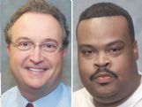 This photo composite shows David Armstrong, left, and Kabir Karriem