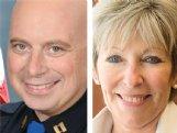 Mark Ballard and Lynn Spruill