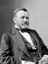 Ulysses S. Grant, 17th President of the United States, is pictured. His presidential library is now permanently housed at Mississippi State University's Mitchell Memorial Library.