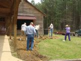 Master Gardeners design and install landscape beds at the entrance to the Catch-A-Dream visitor and development center southwest of Starkville.