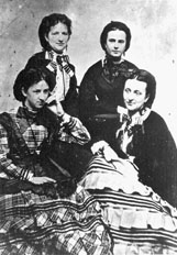 Miss Matt Moreton, Mrs J.T. Fontaine, Mrs. Green T. Hill and Mrs. Augusta Murdock Sykes are credited with beginning Decoration Day in Columbus.