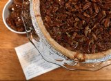 Eleanor Ellis' pecan pie is made from a recipe she got from her mother-in-law, Geneva Redus Shelton.