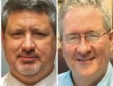 Chris Hemphill, left, and Tom Buckley