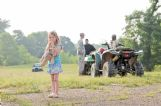Dispatch photographer Luisa Porter won first place for spot photography for this photo taken in the aftermath of a Luxapalila River drowning in May 2013. Ashleigh Brasfield, 4, clutches her teddy bear while law enforcement personnel and others search for her cousins after an ATV accident.