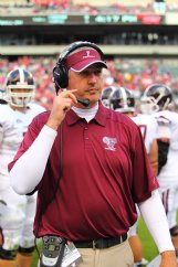 While coaching at Fordham, Joe Moorhead led his team to several notable wins against FBS programs.