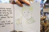 Jenny Vega's drawings in